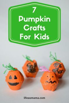 If you're not ready to give your kiddo free reign to carve their own pumpkin just yet, try introducing them to some of these adorable pumpkin crafts.