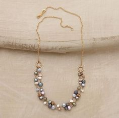 Palette Of Pearls Necklace $995 Sundance Catalog