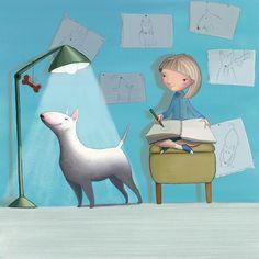 Des1gn ON - Blog de Design e Inspiração. - http://www.des1gnon.com/2013/10/ilustracoes-para-criancas/