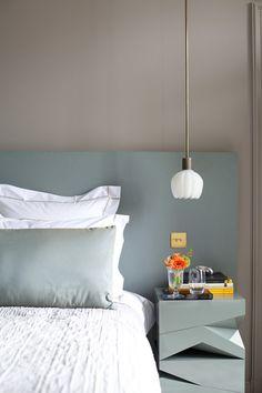 Custom Finish - 30 Easy Ideas For A Stylish Bedside Table - Lonny