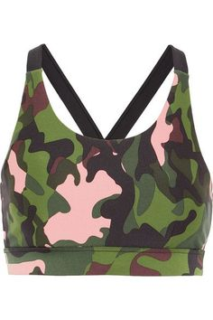 b14d2c96ad The Upside - Lottie camouflage-print stretch sports bra