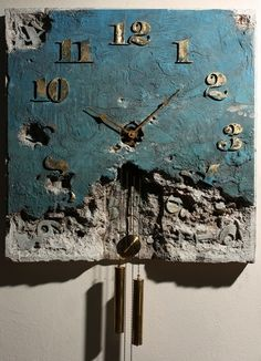 The Clock 3 by ~Yaro42 Traditional Art / Sculpture / Surreal