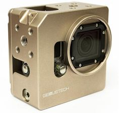 Genus GoPro Cage Has a 52mm Filter Thread Built In & 40 Mounting Positions: