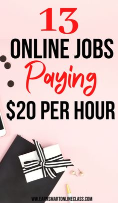 Want to make $20 or more this month? Great! Here is a list of the best online jobs paying more money per hour. Learn how to earn more money online without selling your soul. #onlinejobsfromhome #hourlyjobs #careersfromhome #sidejobstomakemoney #earnmoneyfromhome Make Money Now, Earn More Money, Ways To Earn Money, Earn Money From Home, Earn Money Online, Make Money Blogging, Earning Money, Money Fast, Money Tips