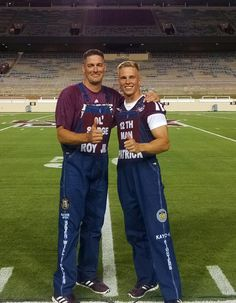 Last Midnight Yell @ Kyle w/this guy. We've had some great times, brother Senior Overalls, Bib Overalls, Dungarees, Kyle Field, Texas A&m, A Guy Who, Teacher Stuff, Pride, Diy Projects