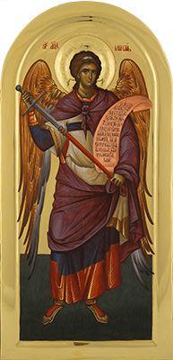 Visit the post for more. Religious Icons, Religious Art, Byzantine Icons, Orthodox Icons, St Michael, Illuminated Manuscript, Cherub, Holy Spirit, Saints
