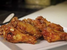 Glazed Garlic Chicken Wings — Opal Thai Food (Haleiwa, Hawaii) : Opal himself is…