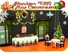 Random TS2 to TS4 Xmas Conversions | Sims 4 Designs
