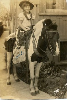Cowgirl  by KID DEUCE, via Flickr