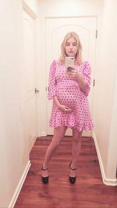 Stylish Maternity, Maternity Fashion, Maternity Dresses, Pregnancy Looks, Pregnancy Outfits, Pregnancy Style, Emma Roberts Style, Blake Steven, Emma Style