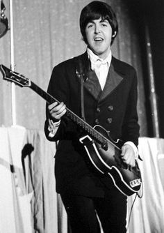 Paul McCartney the best bass guitar player of all time - MaccaBlog ( never seen that stage outfit worn before ...h white )