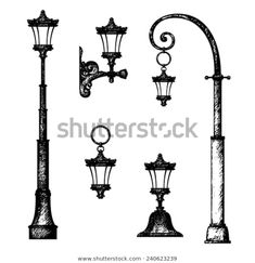 Find Sketch Street Light Vector Drawing stock images in HD and millions of other royalty-free stock photos, illustrations and vectors in the Shutterstock collection. Line Sketch, Line Drawing, Medieval, Garden Lamps, Street Lamp, Pixel, Light Painting, Art Lessons, Drawings