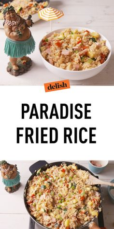 Paradise Fried Rice Will Send You Straight To Your Own Private Island