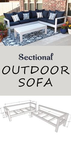 Outdoor Furniture Plans, Diy Furniture Couch, Diy Furniture Plans Wood Projects, Diy Sofa, Furniture Design, Furniture Storage, Diy Projects, House Furniture, Building Furniture
