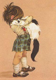 Illustration by Janet & Anne Grahame Johnstone