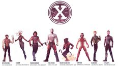 I love, love, LOVE the costume redesigns and ideas presented here in Stefan Tosheff's X-Men.  This is why I follow Project: Rooftop.  I would so read this book.