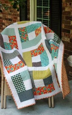 Image result for quilt patterns using large squares