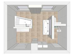 Finde moderne Badezimmer Designs: Grundriss. Entdecke die schönsten Bilder zur Inspiration für die Gestaltung deines Traumhauses.