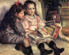 Portraits of Two Children - Pierre Auguste Renoir - The Athenaeum