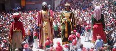 La Patum de Berga  Corpus Christi Feast in Spain. La Patum de Berga in Catalonia is a 5 day celebration based on the religious festival of the feast of Corpus Christi.