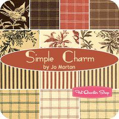 Simple Charm Fat Quarter Bundle Jo Morton for Andover Fabrics - Fat Quarter Shop