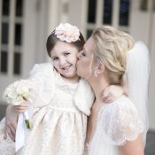 White Flower Girl Outfit