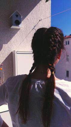 Braids Lucky Luke, Braids, Dreadlocks, Hair Styles, Beauty, Bang Braids, Hair Plait Styles, Cornrows, Braid Hairstyles
