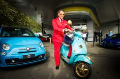 Garage Italia Customs Lapo Elkann Vespa