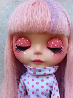 Ooak Custom Blythe Doll by VictorianAntiques on Etsy