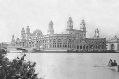 Electricity Building - World's Fair Chicago 1893
