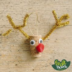 This Rudolf the reindeer is a real corker! Unicorn Pinata, Unicorn Party, Magical Unicorn, Reindeer, Corner, Product Launch, Crafty, Fruit, Christmas