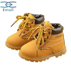 Department Name: ChildrenItem Type: BootsFashion Element: SewingGender: UnisexLining Material: PlushOutsole Material: Cow MuscleSeason: All SeasonsClosure Type: Hook & LoopBoot Height: Mid-CalfToe Shape: Round ToeBoot Type: Snow BootsHeel Type: In withUpper Material: PUCode: Black red yellowItem: 609 cotton BootsFor age: Children (1Whether there is light: NoWhether a noise: No | Shop this product here: http://spreesy.com/destinationbaby/461 | Shop all of our products at…