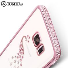 TOMKAS Silicone Case For Samsung Galaxy S7 Edge S7