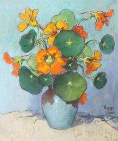 Theys Conrad - 'Kappertjies' in a vase I South-Africa