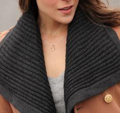 Penny Pincher Fashion rocks her Stella & Dot 'Lucky Charm' Necklace.  www.stelladot.com/yadira