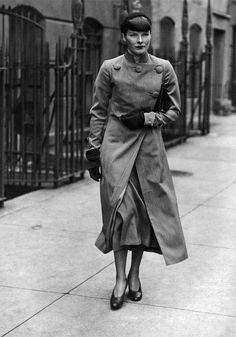 Katharine Hepburn. New York, 1934.