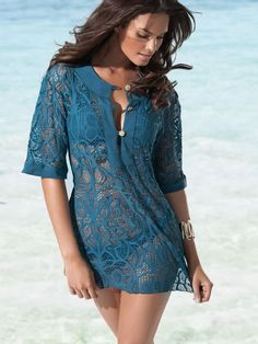 L Space 2012 Teal Lucca Tunic