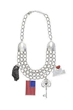 Love USA! 4/27/12  http://www.romwe.com/chunky-chain-flag-silver-necklace-p-31345.html