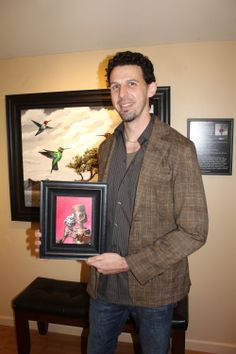 Michael Summers at Exclusive Collections Gallery's 6th Annual Miniature Show