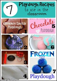 Playdough in the Classroom