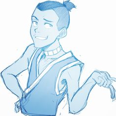 somehow my first avatar fanart???
