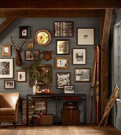 Beautiful gallery wall.