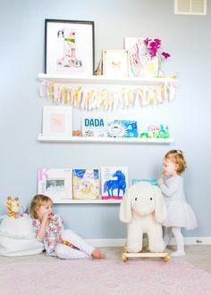 Nursery Shelves | Shining on Design