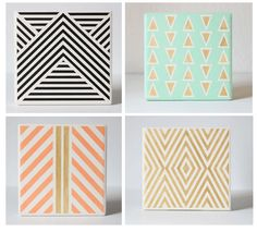 Mix + Match Coasters (Set of 4) | BRIKA - A Well-Crafted Life