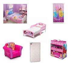 Toddler Character Bed Mattress and Complete Bedding Bedroom Bundle Set Crib Mattress, Crib Sheets, Bedroom Bed, Bedroom Decor, Kids Bedroom, Sleep Safe Bed, Disney Princess Room, Big Beds, Delta Children