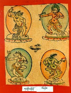 Himalayan Art: Item No. Tibetan Buddhism, Mini Paintings, Central Asia, Himalayan, Deities, Asian Art, Art Reference, Folk Art, Oriental