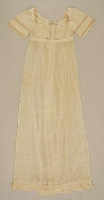 ca. 1810 Teenage girl dress