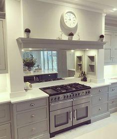 Mind Blowing Useful Ideas: Fire Pit Gazebo Lights fire pit wood house. Kitchen Mantle, Barn Kitchen, Home Decor Kitchen, Kitchen Living, Kitchen Interior, Home Kitchens, Kitchen Design, Kitchen Ideas, Living Room