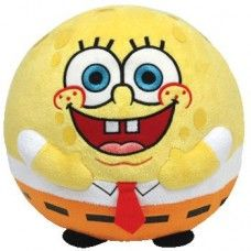 ace8152ecc1 Spongebob Beanie Ballz Ty Beanie Ballz