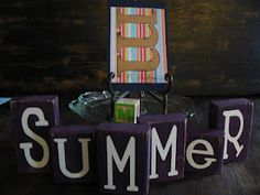 "The Creative Homemaker: ABC Summer ""M"" Day"